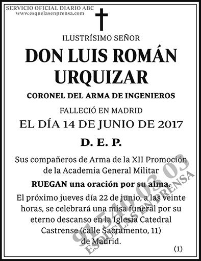 Luis Román Urquizar